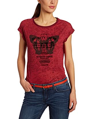Pepe Jeans London Camiseta Peaches (Rojo)