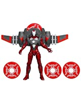Marvel The Avengers Comic Series Iron Man Divebomb Mission Figure