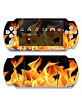 Sony Psp 1000 Decal Skin Flame
