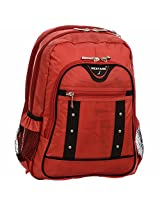 Next Age Nylon Red School Backpack