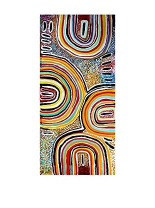 Legendarte Ölgemälde auf Leinwand I Colori Della Tradizione mehrfarbig