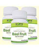 Scortis Bael Fruit Aegle Marmelos (SET OF 3)