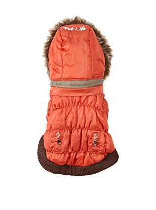Pet Life Ski Parka (Orange)