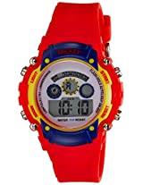 Disney Digital Multi-Color Dial Boys's Watch - 1K2314P-MC-002RD