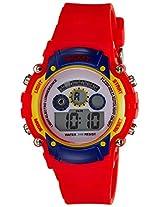 Disney Digital Multi-Color Dial Boys's Watch - 1K2314P-MC-002RD