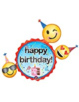 Anagram Emoji Birthday Wishes Foil P40