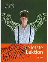 Die letzte Lektion (German Edition)