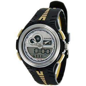 Sonata Super Fibre Analog-Digital Multi-Color Dial Men's Watch - NE7981PP01J