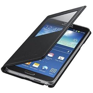Samsung Galaxy Note 3 Neo N7505 S View Flip Cover EF-CN750BBEGIN - Black - Genuine