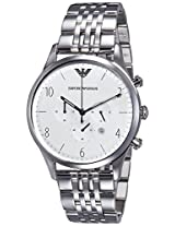 Emporio Armani End-of-season Analog Silver Dial Men's Watch - AR1879