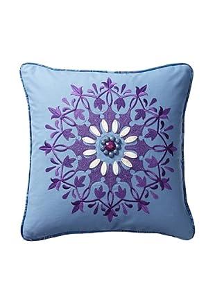 Echo Jakarta Decorative Pillow, Chambray Blue/Purple