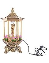 LP Plastic Decorative Light Lamp without Bulb (Gold)