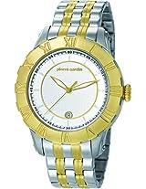 Pierre Cardin Analog White Dial Men's Watch - PC105371F09
