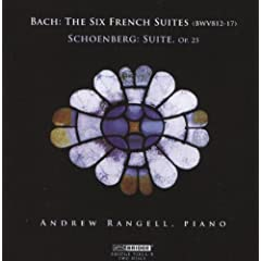 Andrew Rangell Plays Bach &amp; Schoenberg