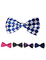 DBFF0025 Series Colors Satin Thanksgiving Day Boys Pre-Tied Bow Ties Set - 5 Colors Available By Dan Smith