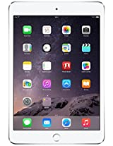 Apple iPad Mini 3 (Silver, 16GB, WiFi + Cellular)