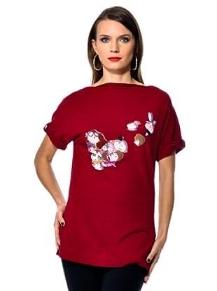 Love Moschino Camiseta Fa (Rojo)
