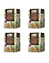 Organic Tulsi Rooibos Infusion - 20 Tea Bgas - Pack of 4
