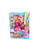 Toys And Games Barbie Princess Power Super Sparkle Doll 3 Years & Above