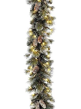 National Tree Company 9' Glitter Pine Garland