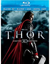 Thor (Blu-ray 3D + Blu-ray + DVD + Digital Copy)