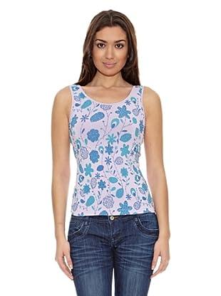 Sándalo Camiseta Giada5 (Violeta)
