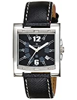 Maxima Attivo Analog Black Dial Men's Watch - 21152LMGI