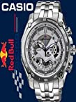 Casio Edifice EF-550 Red Bull Edition White Dial