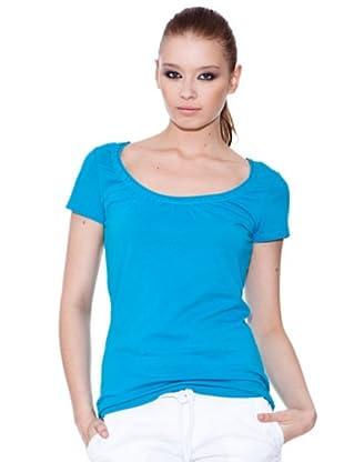 Esprit Camiseta Scoop (Turquesa)