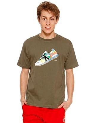 Kelme Camiseta Manga Corta Sport (Caqui)