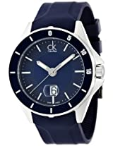 Calvin Klein Blue Dial Men's Watch - K2W21TZX