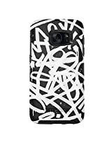 OtterBox SYMMETRY SERIES Case for Samsung Galaxy S7 - Frustration-Free Packaging - GRAFFITI (BLACK/BLACK/GRAPHIC)