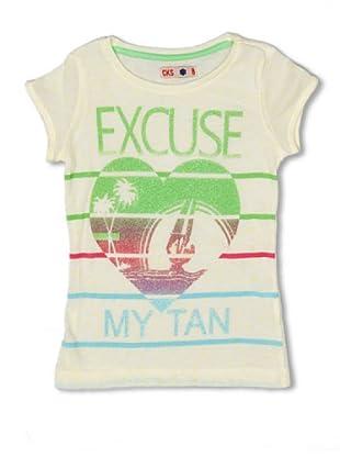 CKS Kids GIRLS Camiseta Tourmaline (Amarillo)