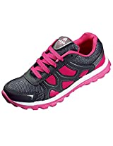Adi-Bok Pink Synthetic Leather Running Shoes For Women_8