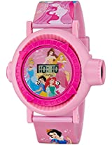 Disney Digital Multi-Colour Dial Girl's Watch - DW100483