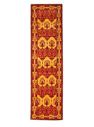 Darya Rugs Arts & Crafts Rug, Red, 2' 8