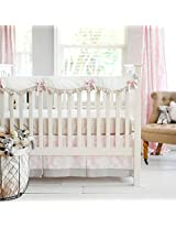 New Arrivals Crib Rail Cover, Cross My Heart