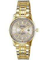 Casio Enticer Analog Silver Dial Women's Watch - LTP-1358G-7AVDF (A897)