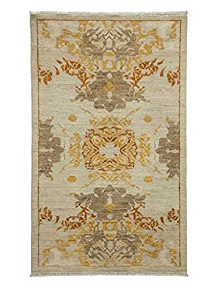 Darya Rugs Fine Modern Oriental Rug, Sand, 3' 2