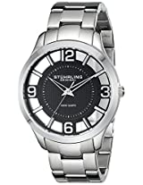 Stuhrling Original Analog Black Dial Men's Watch - 754.02