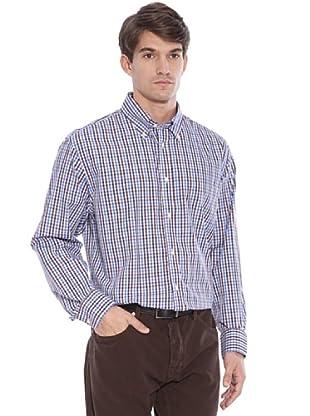 Hackett Camisa Cuadros (Azul / Marrón)
