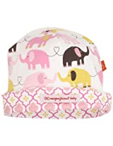 Magnificent Baby Baby-Girls Newborn Reversible Cozy Cap