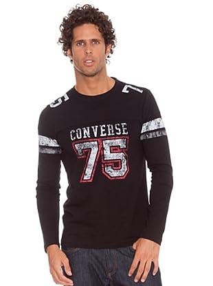 Converse Camiseta T-Fermat (Negro)