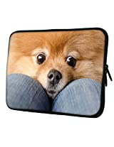 Snoogg Chihuahua Haha 14 to 14.6 inch Laptop netbook notebook Slipcase sleeve