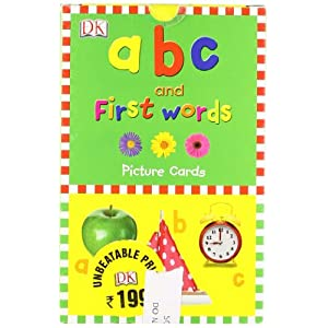 ABC & First Words Picture Cards