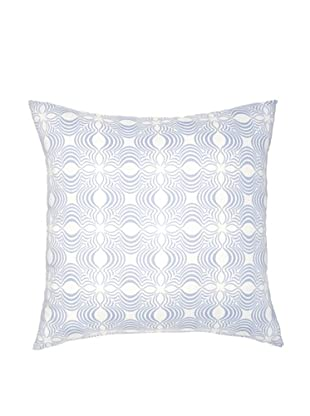 Image by Charlie Dynasty Decorative Pillow, Dream Blue/Off-White, 20