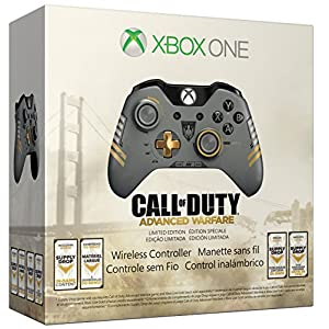 Microsoft Xbox One Call of Duty: Advanced Warfare Wireless Controller - Limited Edition
