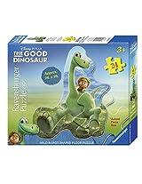 Ravensburger The Good Dinosaur: Arlo & Spot Shaped Floor Puzzle (24 Piece)