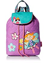 Stephen Joseph Little Girls' Signature Collection Quilted Backpack