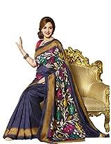 Bhavi Embellished Printed Silkosa Silk Saree
